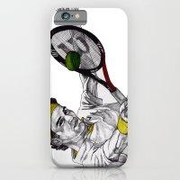 Tennis Federer iPhone 6 Slim Case
