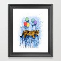 Soar Motion Framed Art Print