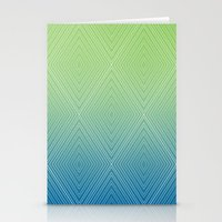 Diamonds (GreenFlashSnor… Stationery Cards
