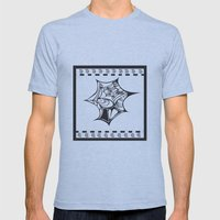 Sea Shell Mens Fitted Tee Athletic Blue SMALL