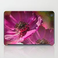 Pink Poppies  iPad Case