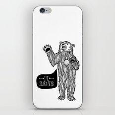 Scary Bear 2 iPhone & iPod Skin