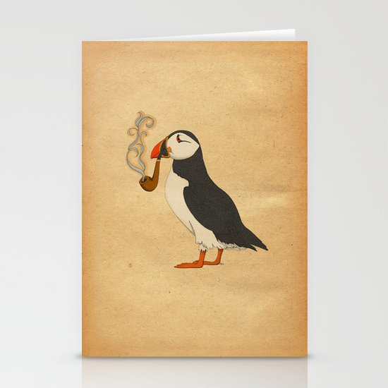 Puffin' Stationery Card