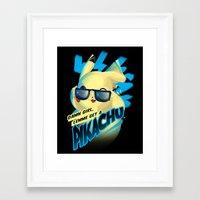 Lemme get a... Framed Art Print