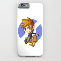 Pokemon Trainer BLUE iPhone 6 Slim Case