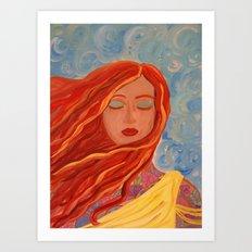 Embrace your Inner Fire Art Print