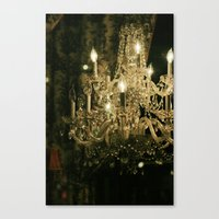 New Orleans Chandelier Canvas Print