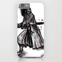 iPhone & iPod Case featuring Bloody Samurai by Liviu Matei