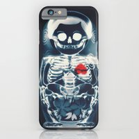 iPhone Cases featuring Nesting Doll X-Ray by Ali GULEC