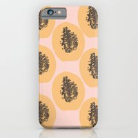 Papaya Print iPhone 6 Slim Case