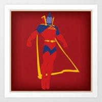 Confidence!  Kallark, The Gladiator Art Print