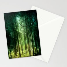 Enchanted light Stationery Cards