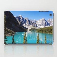 Moraine Lake in Alberta, Canada iPad Case
