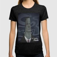 Dr. Frankensteins Monste… Womens Fitted Tee Tri-Black SMALL