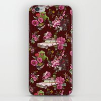 Ecto Floral iPhone & iPod Skin