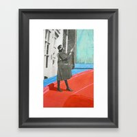 Up Go the Sails Framed Art Print