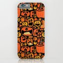 Pumpkin Pattern iPhone & iPod Case