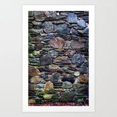 I So Love Rock Walls Art Print