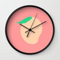 #77 Mango Wall Clock