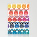 Power Owl Stationery Cards
