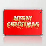 Merry Christmas Ponies Laptop & iPad Skin