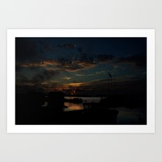 FISHERMAN'S BEST CATCH Art Print
