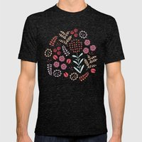 Little Ladybugs Mens Fitted Tee Tri-Black SMALL