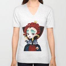 Queen of Hearts Unisex V-Neck