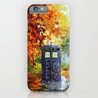 iPhone Cases featuring starry Autumn blue phone box Digital Art iPhone 4 4s 5 5c 6, pillow case, mugs and tshirt by Three Second