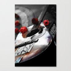 Guitar Strawberry Fields NYC Canvas Print