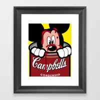 Just A Pop Framed Art Print