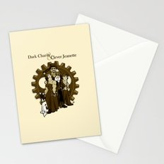 Dark Charity & Clever Jeanette Stationery Cards