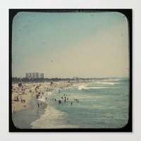 Vintage Venice Beach Canvas Print