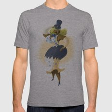 Pin up Mens Fitted Tee Athletic Grey SMALL