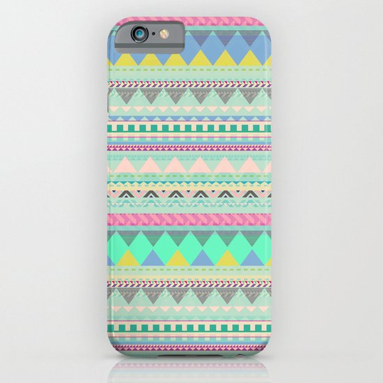 PASTEL AZTEC iPhone & iPod Case