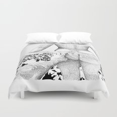 The Swim Duvet Cover