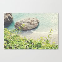 By the sea-Spain Canvas Print