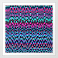Making Waves Berry Smoothie Art Print