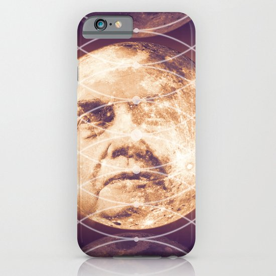 Man in the Moon Phases iPhone & iPod Case