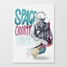 SPACE ODDITY Canvas Print
