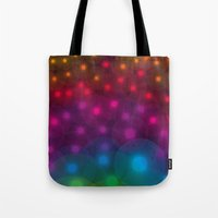 SF Dandelion Rainbow Tote Bag