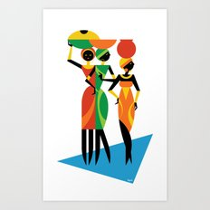 African Women Art Print