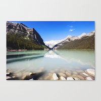 Lake Louise in Alberta, Canada Canvas Print