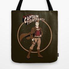 Captain Tightpants Tote Bag