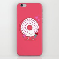 The Donut Valentine iPhone & iPod Skin