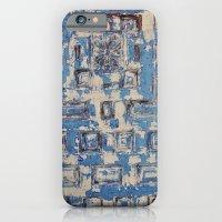 Blue Patterned Door iPhone 6 Slim Case