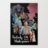 Kentucky Shakespeare 55 … Canvas Print