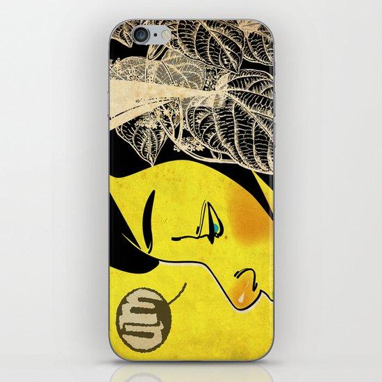 Yellow Pleasure iPhone & iPod Skin