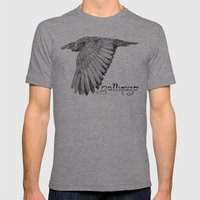 Gallinazo Mens Fitted Tee Tri-Grey SMALL