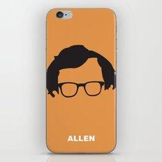 Allen iPhone & iPod Skin